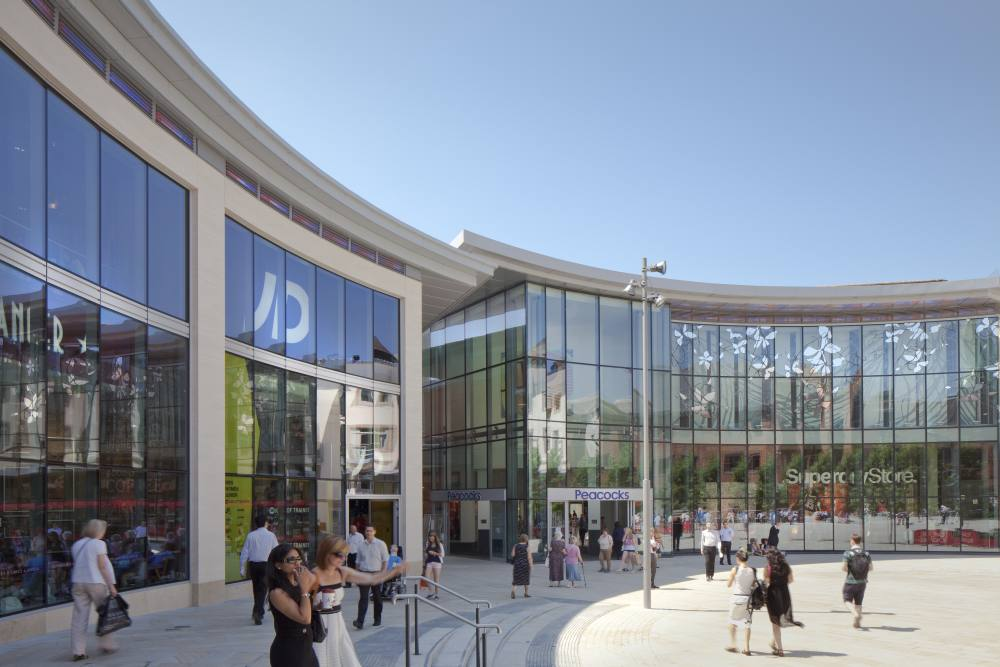 Peacock Shopping Centre and Woking Public Realm
