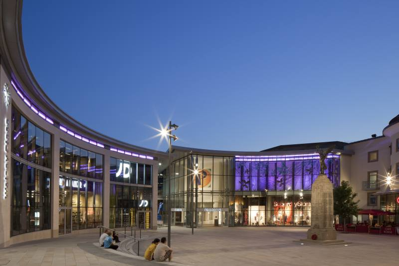 Peacock Shopping Centre And Woking Public Realm Stothers